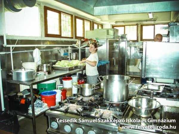 az anno étterem konyháján
