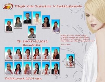 Gyakorló kozmetikus  - Telegdi Kata Szakiskola