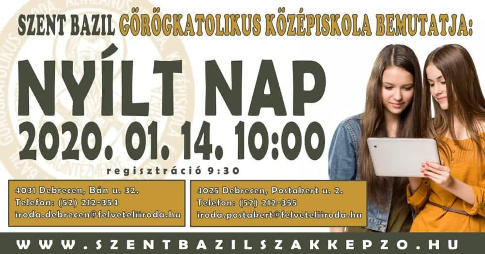 Szent Bazil Középiskola Rendhagyó innovációs verseny Debreceni tagintézmény Hírek Szent Bazil Görögkatolikus Középiskola