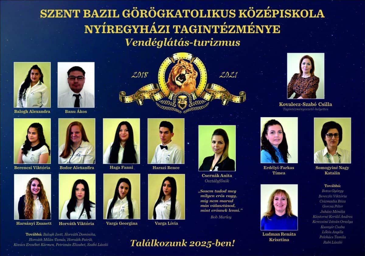 Szent Bazil Középiskola Ballag(na) már… egy elmaradt ballagás margójára Hírek Nyíregyházi Tagintézmény Szent Bazil Görögkatolikus Középiskola